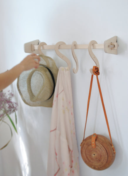 PORTE-MANTEAU PETIT Modèle / SMALL COAT RAIL -50%