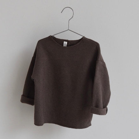 Pull BILLIE Mellow Brown / BILLIE blouse Mellow Brown - 6y au 10y