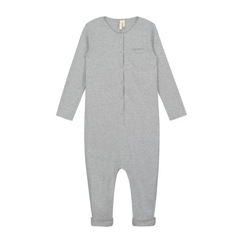 L/S Playsuit Grey 18m à 3y