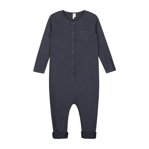 L/S Playsuit Night Blue 2-3y -30%