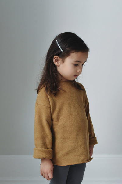 Pull BILLIE Caramel / BILLIE blouse Caramel - 6y au 10y