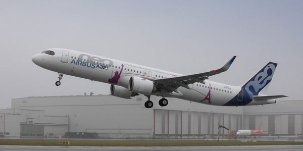Airbus Prepares Assembly of the First A321XLR