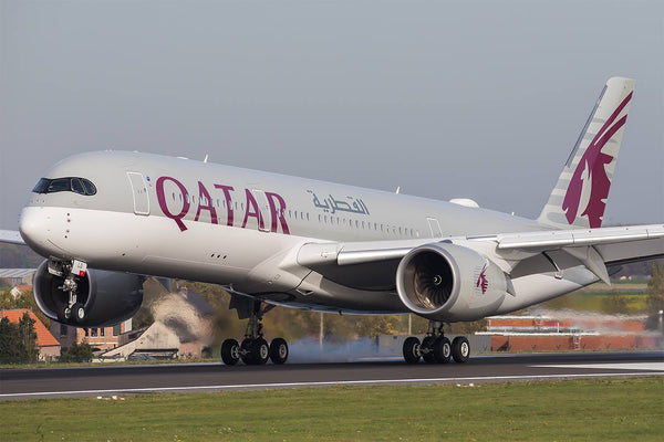 Qatar 787 Collides With A350
