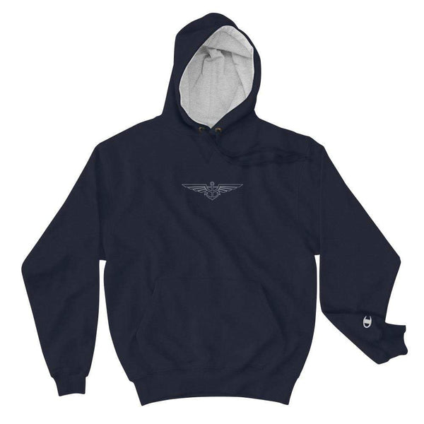 Aeronautical co Aeronautical x Champion Collab Hoodie