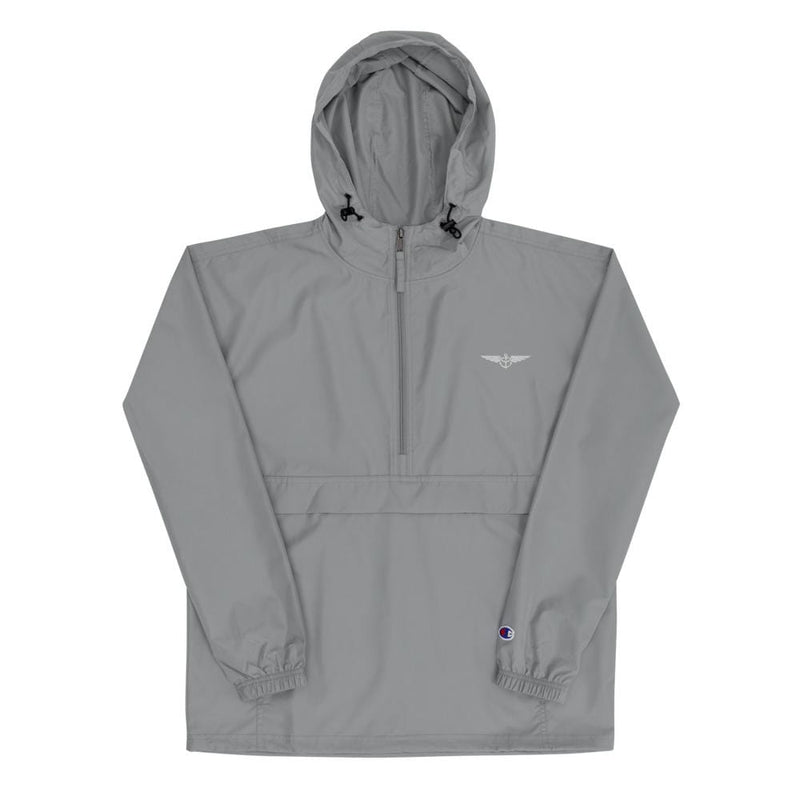 Aeronautical co Aeronautical x Champion Collab Packable Jacket