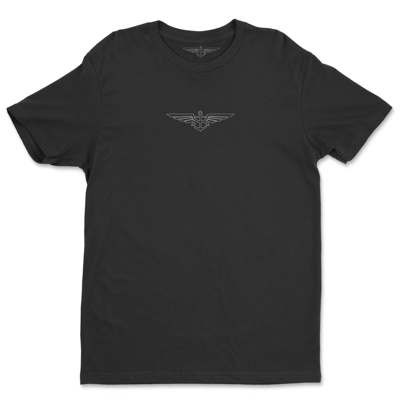 Aeronautical co Blueprint - Black