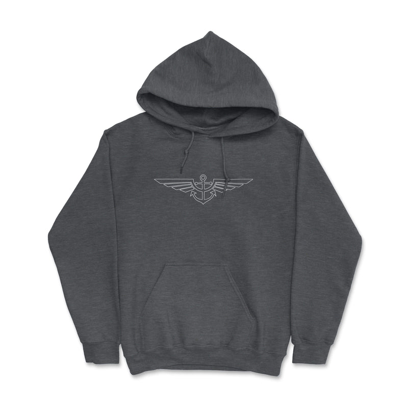 Aeronautical co Blueprint Hoodie