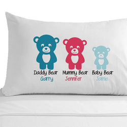 Personalised Baby Boy Pillowcase