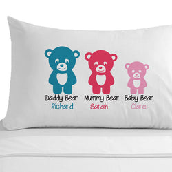 Personalised Baby Girl Pillowcase