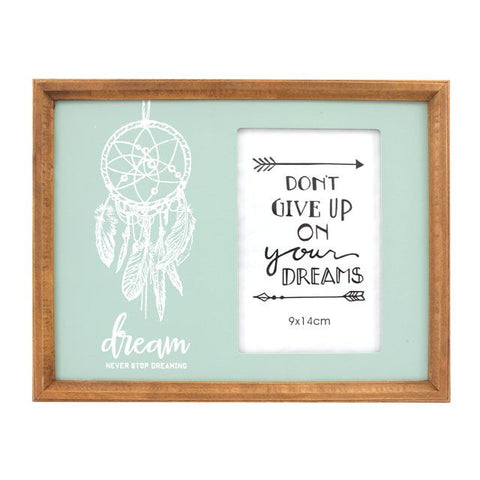 Turquoise Dream Catcher Photo Frame