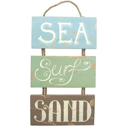 Sea Surf Sand Hanging Sign
