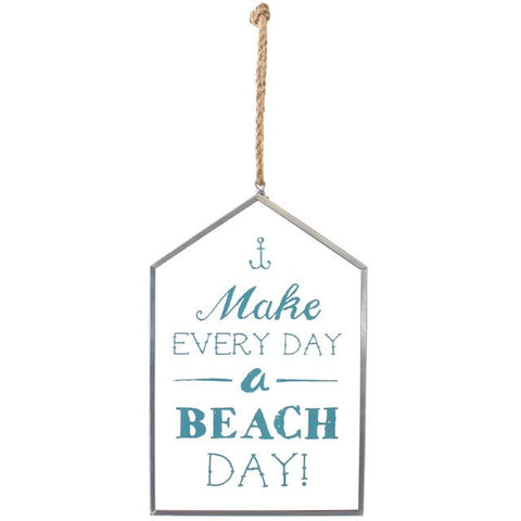 Glass Beach Day Hanging Sign