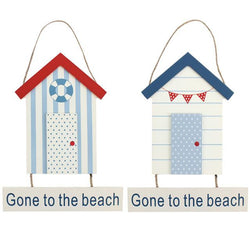 Gone To The Beach Hanging Sign