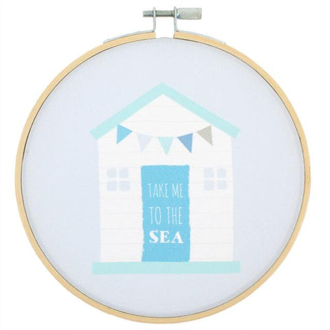 Beach Hut Hoop