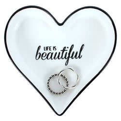 Life Is Beautiful Jewellery Dish