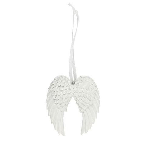 Double Angel Wing Hanging Decoration