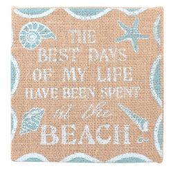Hessian Beach Plaque