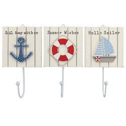 Nautical Theme Coat Hooks