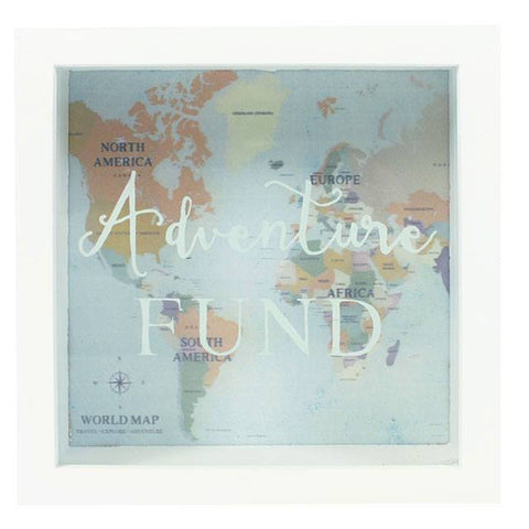 Adventure Fund Framed Money Box