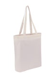 Canvas Tote With Bottom Only CN-200