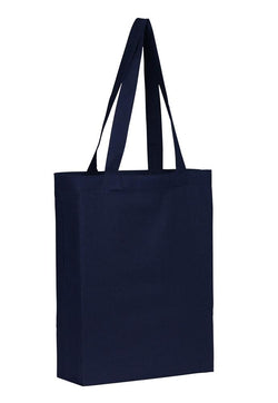 Cotton Tote With Base Gusset Only - Navy CT-200-NV