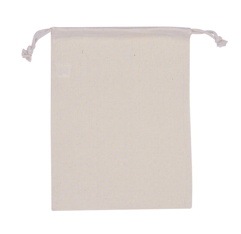 Cotton Drawstring Pouch - Medium CT-PCH-M – ReSellBags com