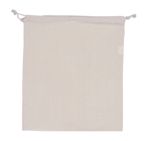 Cotton Drawstring Pouch - Large CT-PCH-L