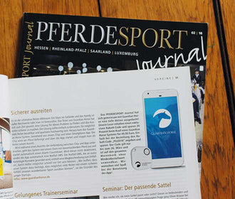 Guardian Horse im Pferdesport Journal