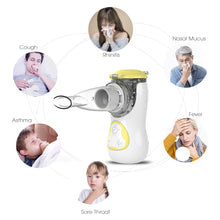 Load image into Gallery viewer, FEELLIFE Air Garden Portable Nebulizer - Yellow