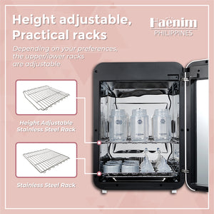 HAENIM UV STERILIZER 4TH GEN PLUS HN-04+ WHITE/METAL
