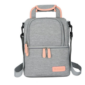 Vcool Breast Pump Bag Gray