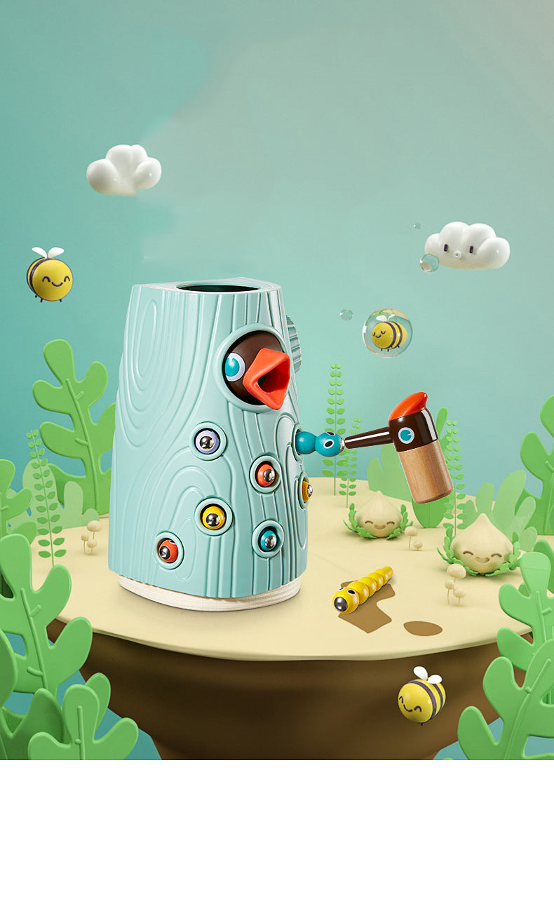 KUB Woodpecker Catching Bug Insect Game