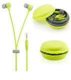 Cute Macaroon Earphones 3.5mm In-Ear Earphone
