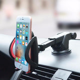 Universal Dashboard & Windshield Mobile Phone Holder - Mono Electronics