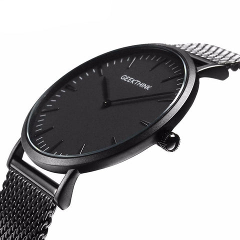 Ultra Thin Mesh Wristwatch - Mono Electronics