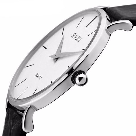 Super Slim Analog Wristwatch - Mono Electronics