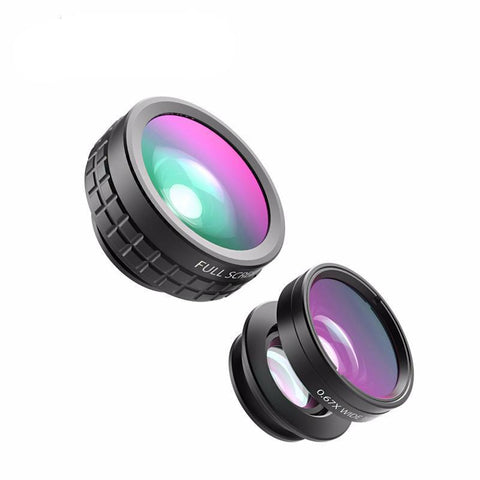 Clip-on Cell Phone Camera Lens Kit - Mono Electronics