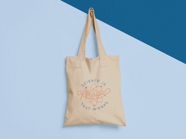 Science is Magic That Works Tote Bag