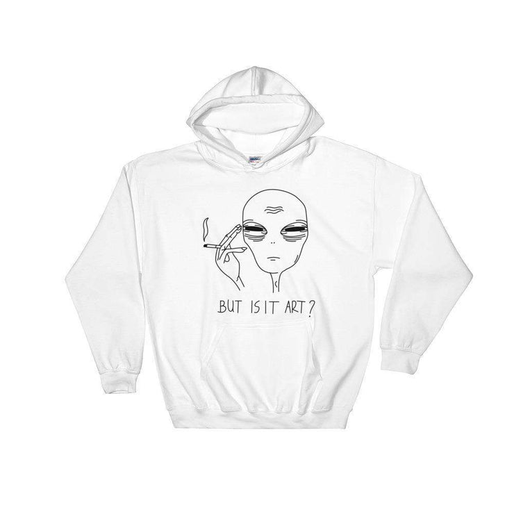 But Is It Art Hoodie - C'monStore #Shirts