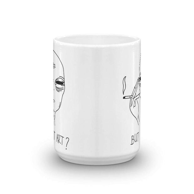 But Is It Art Mug - C'monStore #Mugs