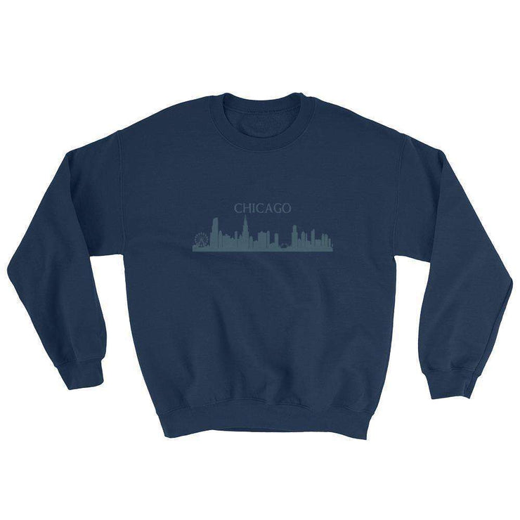 Chicago Skyline Sweatshirt - C'monStore #Shirts
