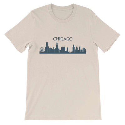 Chicago Skyline T-Shirt - C'monStore #Shirts