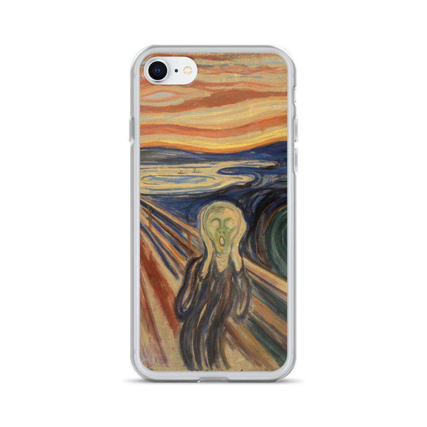 Edvard Munch - The Scream iPhone Case - C'monStore #Phone Cases