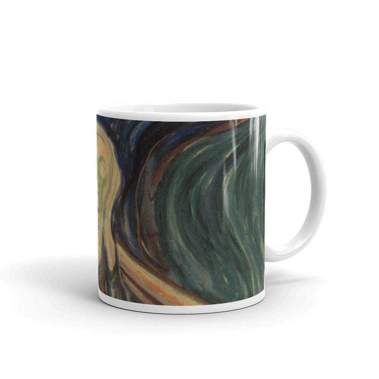 Edvard Munch - The Scream Mug - C'monStore #Mugs