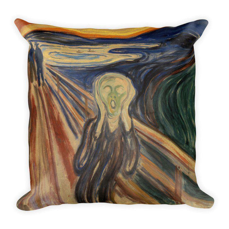Edvard Munch - The Scream Pillow - C'monStore #Pillows