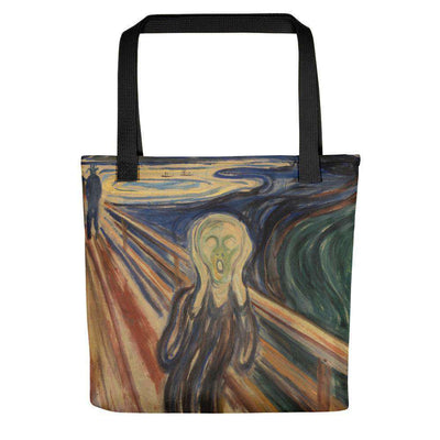 Edvard Munch - The Scream Tote Bag - C'monStore #Tote Bags