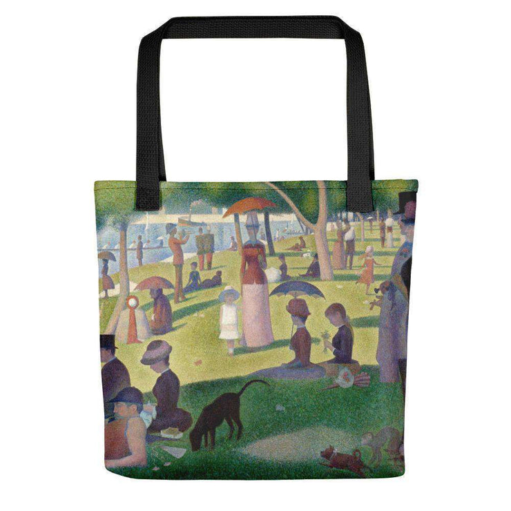 Georges Seurat - A Sunday Afternoon on the Island of La Grande Jatte Tote Bag - C'monStore #Tote Bags