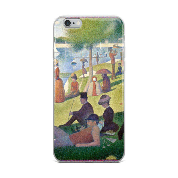 Georges Seurat - A Sunday on La Grande Jatte iPhone Case - C'monStore #Phone Cases