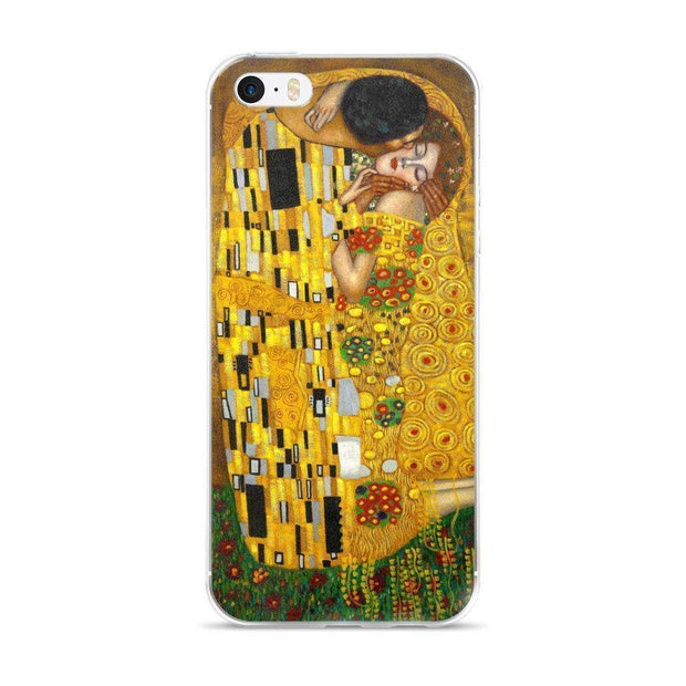 Gustav Klimt - The Kiss (Lovers) iPhone Case - C'monStore #Phone Cases