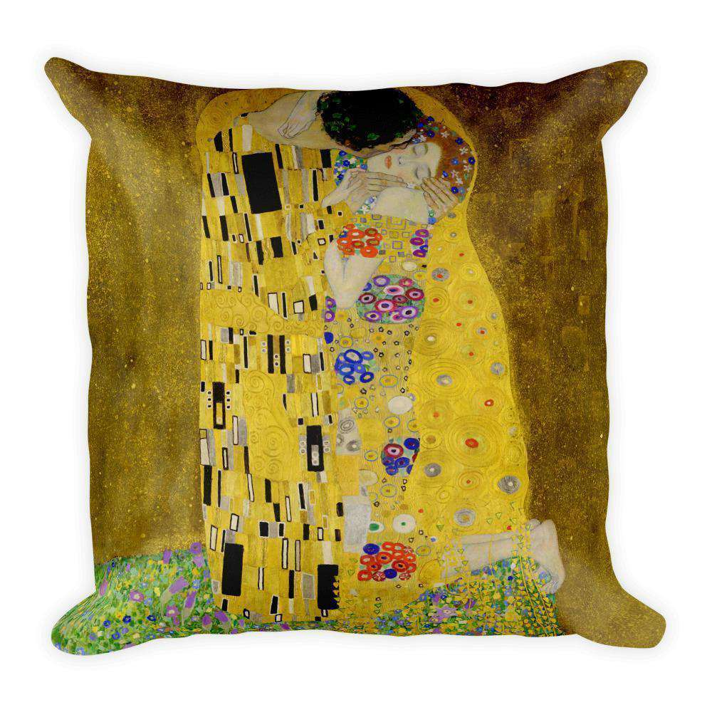Gustav Klimt - The Kiss (Lovers) Pillow - C'monStore #Pillows